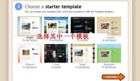 Blogger Choose Template