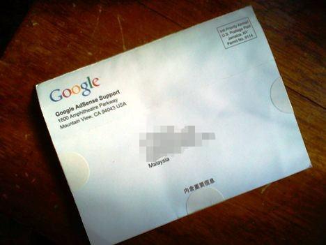 Google Adsense Letter