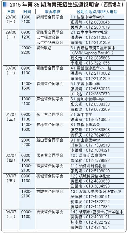2015 海青班