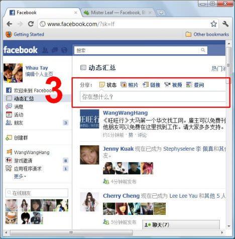 facebook_post_status
