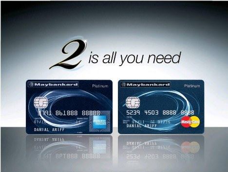 Maybankard 2 Cards