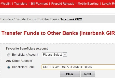 Pay Uob Credit Card Via Cimb Clicks Step By Step