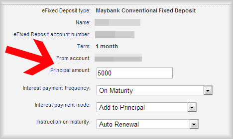 How to place e Fixed Deposit online via Maybank2u