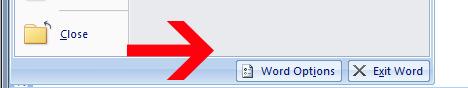 delete recent document word option