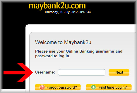 Maybank pay UOB credit card