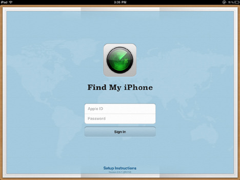 find myiphone