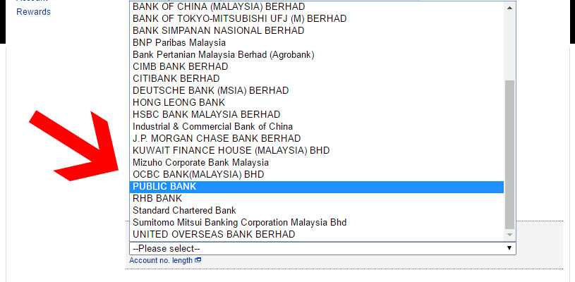 Maybank To PublicBank