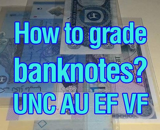 how to grade banknotes
