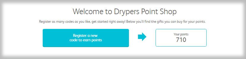 Drypers Point Shop