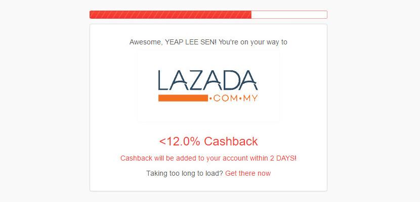 Shopback Lazada