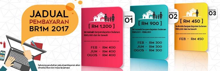 Jadual Pembayaran BR1M