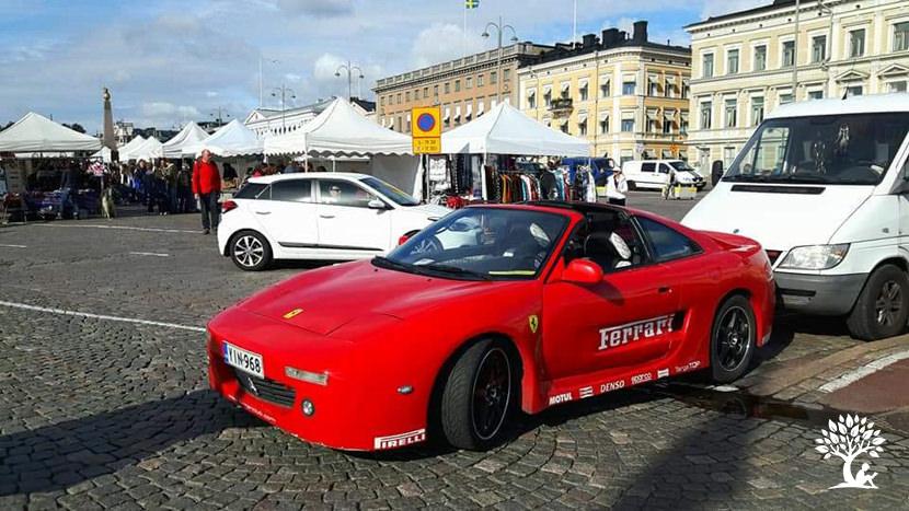Finland Helsinki Ferrari