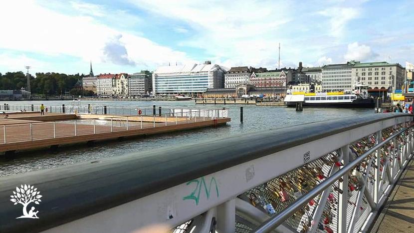 Finland Helsinki Harbour front