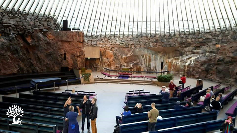 Finland Rock Church
