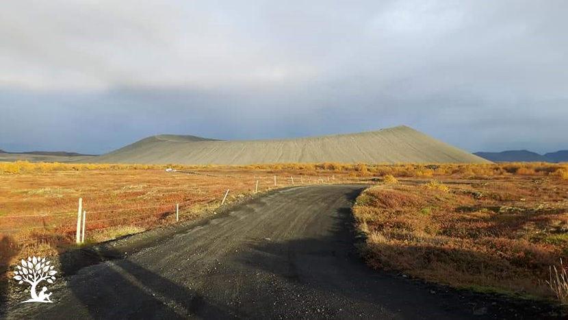 Iceland Hverfjall