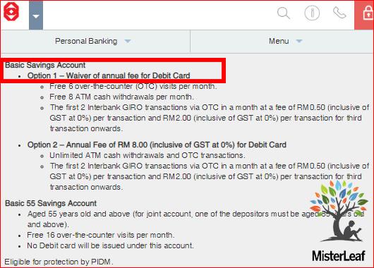 Public Bank Basic Savings Account