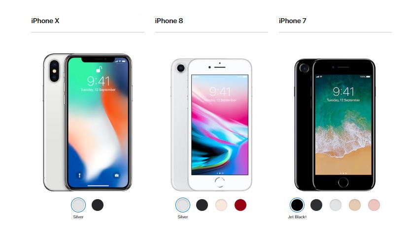 iPhone X iPhone 8 iPhone 7 Price in Malaysia