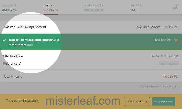 Maybank Mastercard Ikhwan Payment 08