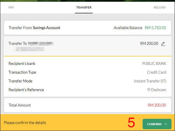 Maybank To Public Bank Step 4
