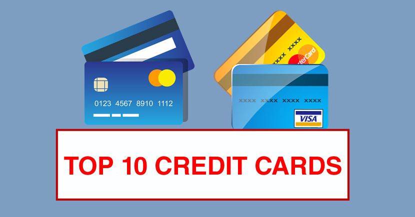 Top 10 Credit Cards