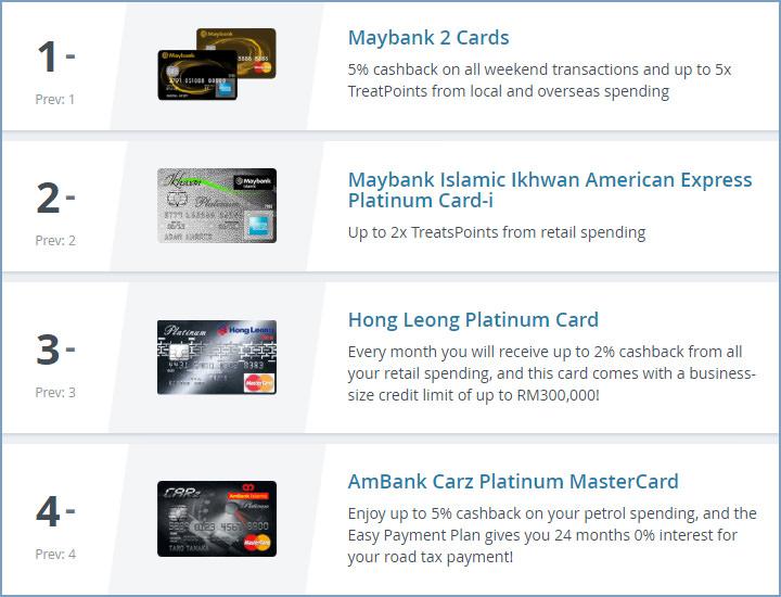 Top 10 Credit Cards Part 1