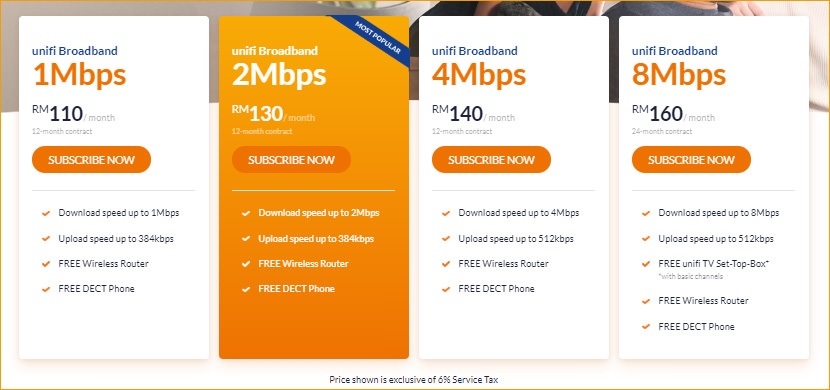 Unifi Broadband