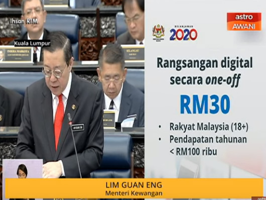 Rangsangan Digital Budget2020